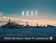 Watch the Navy's latest TV commercial